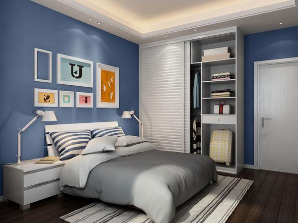 90平米房屋装修效果图——次卧案例